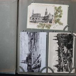 7885: Sammlungen und Posten Ansichtskarten Sachsen