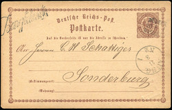90: Altdeutschland Schleswig Holstein - Stempel