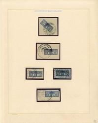 4750: Österreich Gerichts Zustellungsmarken - Collections