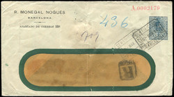 5790: Spain - Private postal stationery