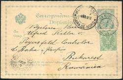 1920: Bosnia Herzegowina  - Postal stationery
