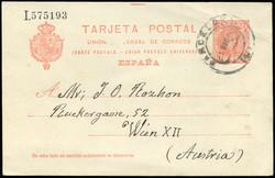 5790: Spain - Postal stationery