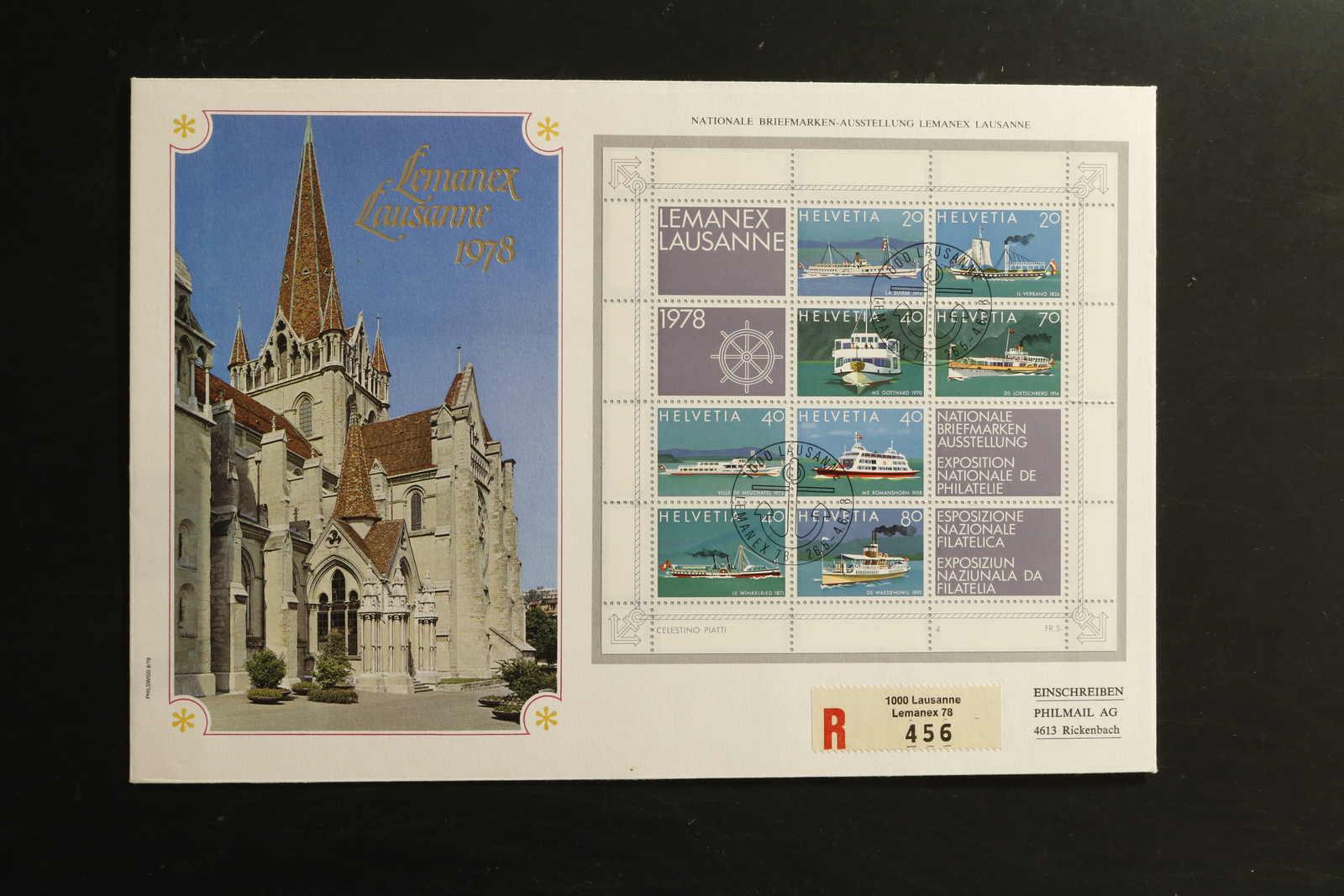 Lot 2577 - COLLECTIONS & ACCUMULATIONS Switzerland -  Auktionshaus Schlegel 26 Public Auction
