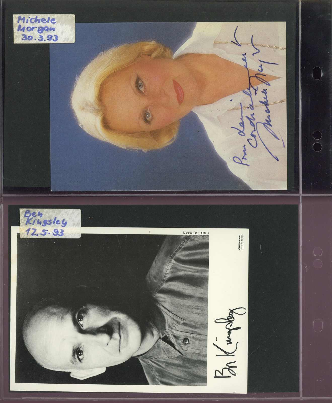 Lot 3174 - COLLECTIONS & ACCUMULATIONS autographs -  Auktionshaus Schlegel 26 Public Auction