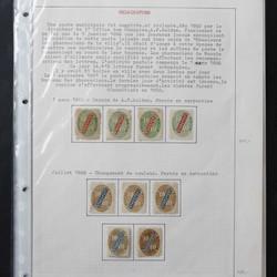 2540: Finnland Lokal-Postmarken - Sammlungen