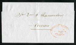 1905: Bolivien - Vorphilatelie
