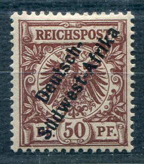 Lot 6378 - Deutsches Reich Deutsche Kolonien South West Africa -  Auktionshaus Schlegel 26 Public Auction