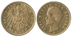 8070: Coins German Empire- Gold Coins