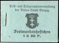 340: Danzig - Markenheftchen