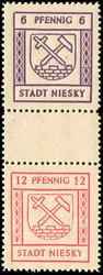 1100: Deutsche Lokalausgabe Niesky - Zusammendrucke