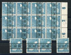 1305: Bizone - Stamps bulk lot