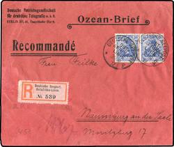 10258070: Deutsche Schiffspost im Ausland - Seepost - Stempel