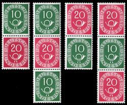 1420: Bundesrepublik Deutschland - Zusammendrucke