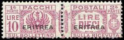 3560: Italian Eritrea - Parcel stamps