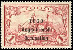 245: German Colonies Togo British Occupation