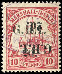 225: German Colonies Marshall Islands British Occupation
