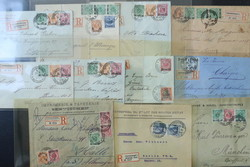 160: German Post in Turkey - Covers bulk lot