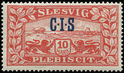 330: Slesvig - Official stamps