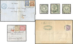 159: German Post in Turkey, Forerunner - Collections