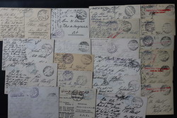 162: German Post in Turkey Military Mission - Covers bulk lot