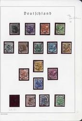 1370200: SBZ Handstempel versch. Bezirke - Collections