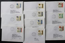 4175: Liechtenstein - Covers bulk lot