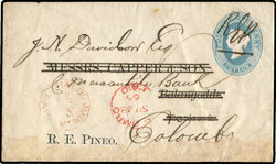 2045: Ceylon - Postal stationery