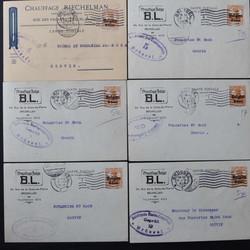 360: Deutsche Besetzung I. WK Belgien - Briefe Posten
