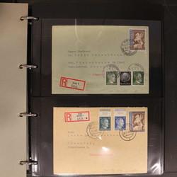 4747: Österreich Ostmark - Briefe Posten