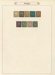 3390: Italien Staaten Romagna - Sammlungen