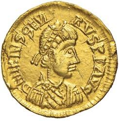 10.50.170: Ancient Coins - Western Roman Empire - Libius Severus, 461 - 465
