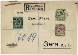 1965: Britisch Honduras