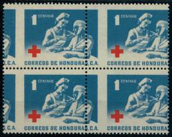 2975: Honduras - Zwangszuschlagsmarken