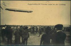 985012: Zeppelin, Zeppelin Postkarten, Viktoria Luise