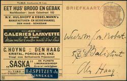 4610: Niederlande - Privatganzsachen