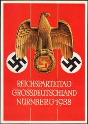 662412: III. Reich Propaganda, Veranstaltungen und Parteitage, Reichsparteitag 1938