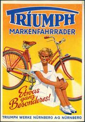 862520: Fahrzeuge, Fahrrad, Fahrradreklame