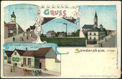 106720: Deutschland West, Plz Gebiet W-67, 672 Speyer