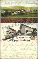 107050: Deutschland West, Plz Gebiet W-70, 705 Waiblingen