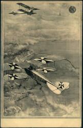 440698: Luftfahrt, Militärische Flugzeuge bis WK-I, sonstige