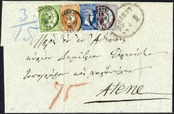 2820004: Griechenland Grosse Hermesköpfe