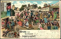 115800: Deutschland Ost, Plz Gebiet O-58, 580-581 Gotha