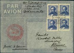 983510: Zeppelin, Zeppelinpost LZ129, Nordamerikafahrten