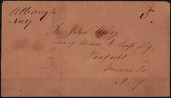 4029: Confederate States Postmasters' Provisionals - Cancellations and seals