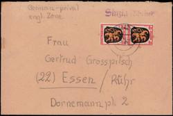 1320: Französische Zone Allgemeine Ausgabe - Stempel