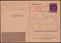 910: German Local Issue Fredersdorf - Postal stationery