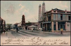 4240: Malaiische Staaten Straits Settlements - Postkarten