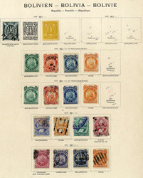 1905: Bolivien - Sammlungen