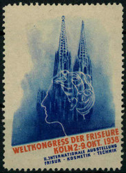 105000: Deutschland West, Plz Gebiet W-50, 500 Köln