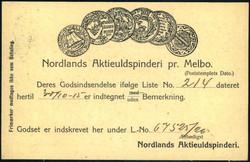 4710: Norwegen - Privatganzsachen